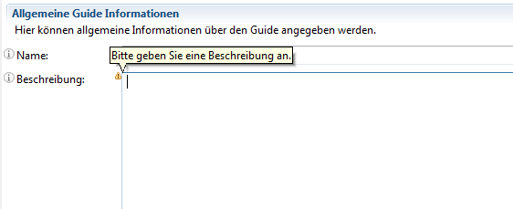 error when validating input