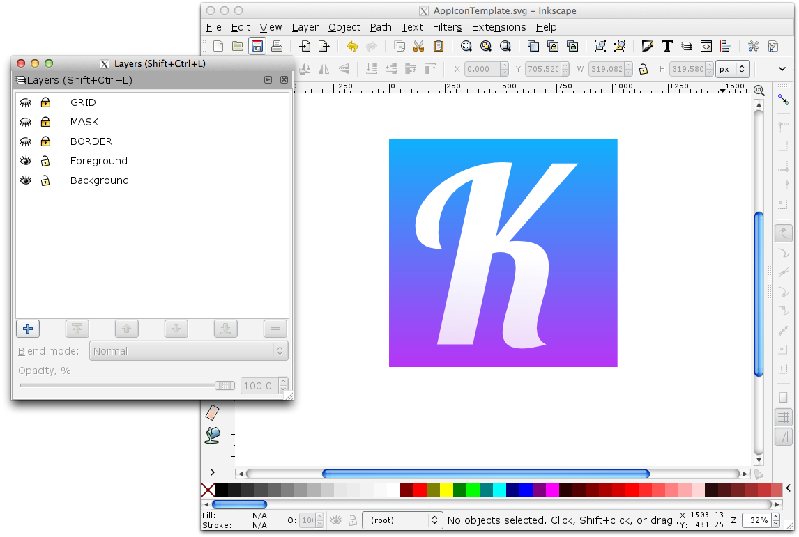 Ios 7 App Icon Svg Template For Inkscape